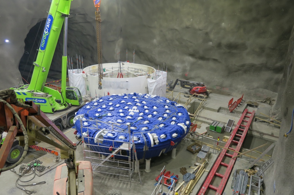 TBM-assembly started
